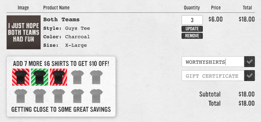 guide to using 6dollarshirts coupons